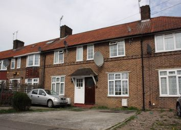 Thumbnail 3 bed terraced house to rent in Horsecroft Road, Edgware, Middlesex