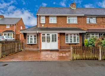 Thumbnail 3 bed semi-detached house for sale in Clockmill Road, Pelsall, Walsall