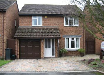 Thumbnail 3 bed detached house to rent in Clare Gardens, Egham