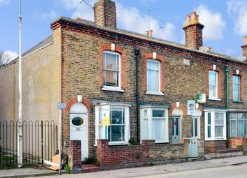 Thumbnail 3 bedroom end terrace house for sale in Canterbury Road, Whitstable, Kent
