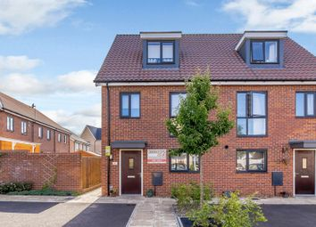 Thumbnail 3 bedroom semi-detached house for sale in Tempest Road, Upper Cambourne, Cambourne, Cambridge