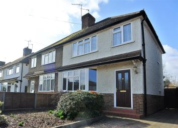 Thumbnail 3 bed semi-detached house for sale in Shakespeare Road, Addlestone