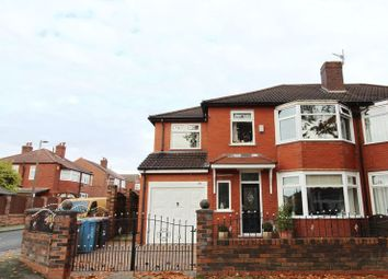 Thumbnail 4 bed semi-detached house for sale in Ashley Drive, Swinton, Manchester