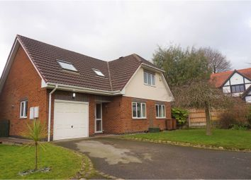 Thumbnail 3 bed detached house for sale in Willow Crescent, Deeside
