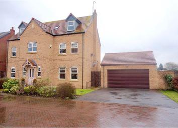 Thumbnail 5 bedroom detached house for sale in Saffron Way, Crowle, Scunthorpe