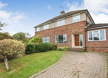 Thumbnail 3 bed semi-detached house for sale in Hackenden Close, East Grinstead, West Sussex