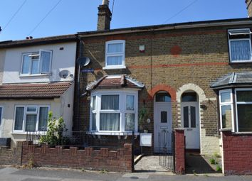 Thumbnail 2 bed end terrace house for sale in Shaftesbury Road, Gidea Park, Romford
