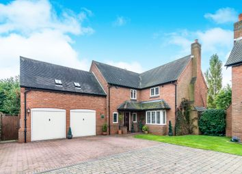 Thumbnail 4 bed detached house for sale in The Woodlands, Tatenhill, Burton On Trent