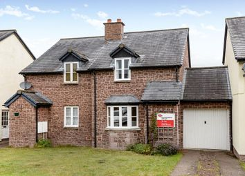 Thumbnail 2 bed link-detached house to rent in Warren Close, Hay, Hay-On-Wye