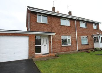 Thumbnail 3 bed semi-detached house for sale in Pollock Drive, Lurgan, Craigavon