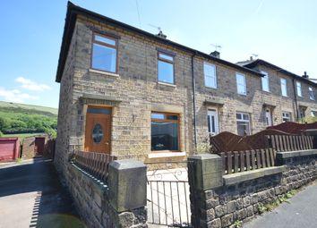 Thumbnail 3 bedroom end terrace house for sale in Mount Road, Marsden, Huddersfield