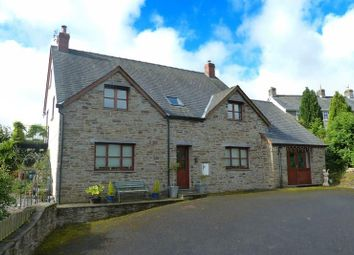 Thumbnail 4 bed detached house for sale in Bryncelyn, Gwenddwr, Builth Wells