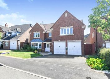 Thumbnail 5 bedroom detached house for sale in Defford Close, Webheath, Redditch, Worcestershire