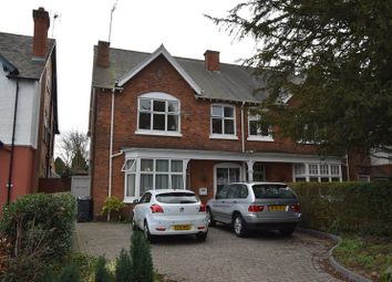Thumbnail 4 bed semi-detached house for sale in School Road, Hall Green, Birmingham