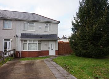 Thumbnail 3 bed end terrace house for sale in Heol Chappell, Whitchurch