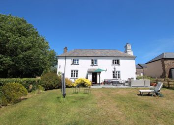 Thumbnail Commercial property for sale in Manor Farm House, Converted Barns, Annxe & Land - Lifton