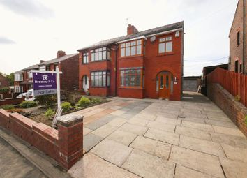 Thumbnail 3 bed semi-detached house for sale in Wigan Road, Aspull, Wigan