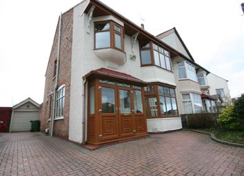Thumbnail 4 bed semi-detached house for sale in Gerard Road, Wallasey