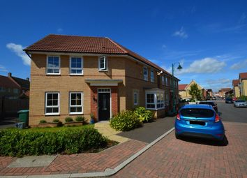Thumbnail 3 bedroom property to rent in Mid Water Crescent, Hampton Vale, Peterborough