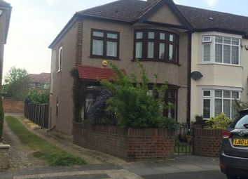 Thumbnail 3 bedroom end terrace house to rent in Glenwood Drive, Gidea Park, Romford