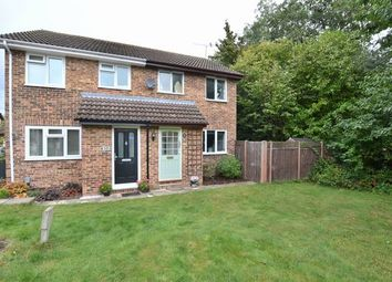 Thumbnail 2 bedroom semi-detached house for sale in Netherhouse Moor, Church Crookham, Fleet