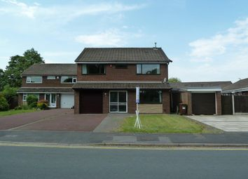 Thumbnail 4 bed detached house to rent in Crabtree Avenue, Penwortham, Preston