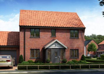 Thumbnail 3 bed detached house for sale in Rightup Lane, Wymondham