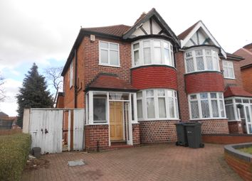 Thumbnail 3 bed semi-detached house to rent in Leominster Road, Birmingham