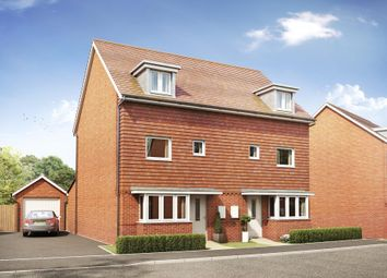 "Thumbnail 4 bedroom semi-detached house for sale in ""Woodvale"" at Park Prewett Road, Basingstoke"