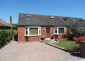 Thumbnail 4 bed semi-detached bungalow for sale in Vale Walk, Findon Valley, Worthing