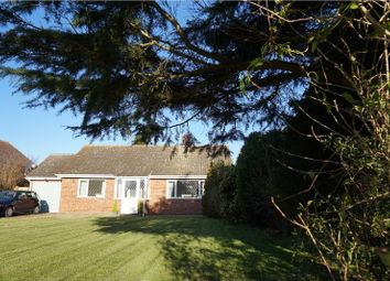 Thumbnail 3 bedroom detached bungalow for sale in Hall Road, Dereham