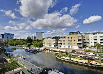 Thumbnail 1 bed flat for sale in Halyards Court, Brentford Lock West, Brentford