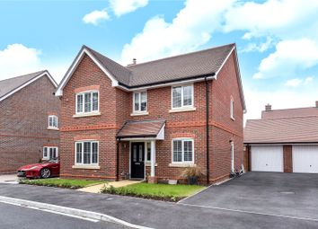 Thumbnail 4 bedroom detached house for sale in Phillips Close, Wokingham, Berkshire