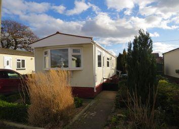 Thumbnail 2 bed mobile/park home for sale in St Oswalds Park, Dunham-On-Trent, Newark