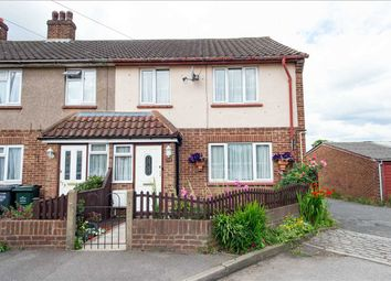 Thumbnail 3 bed end terrace house for sale in Broomfield Road, Swanscombe