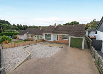 Thumbnail 2 bedroom semi-detached bungalow for sale in Darran Close, Kingsteignton, Newton Abbot