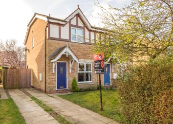 Thumbnail 3 bed semi-detached house for sale in Willow Drive, North Duffield, Selby, North Yorkshire
