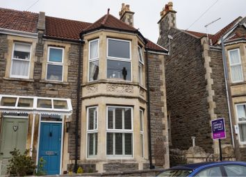 Thumbnail 4 bedroom end terrace house for sale in Marson Road, Clevedon
