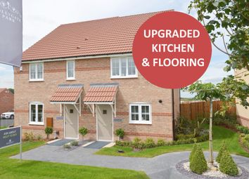 "Thumbnail 3 bed semi-detached house for sale in ""Burton"" at Hollygate Lane, Cotgrave, Nottingham"