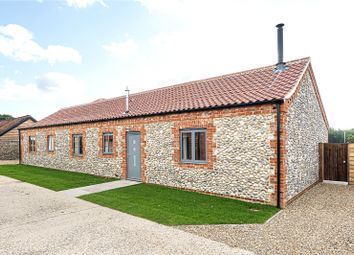 Thumbnail 3 bed barn conversion for sale in Hall Farm Barns, Station Road, Thorpe Market, Norfolk
