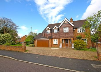 Thumbnail 5 bedroom detached house for sale in Weybridge, Surrey