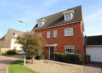 Thumbnail 6 bedroom detached house for sale in Baird Grove, Grange Farm, Kesgrave, Ipswich