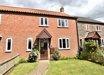 Thumbnail 3 bed terraced house for sale in Pipits Meadow, Aldborough, Norwich