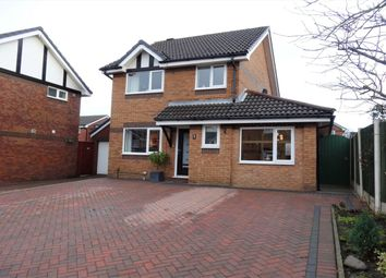 Thumbnail 3 bed detached house for sale in Easton Close, Fulwood, Preston