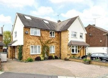 Thumbnail 5 bedroom semi-detached house for sale in Catham Close, St Albans