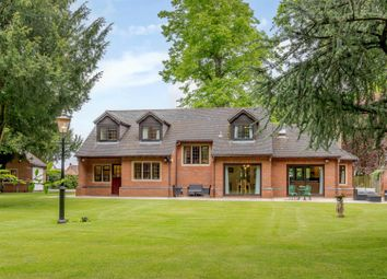 Thumbnail 4 bed detached bungalow for sale in Manor Park, Kings Bromley, Burton-On-Trent, Staffordshire