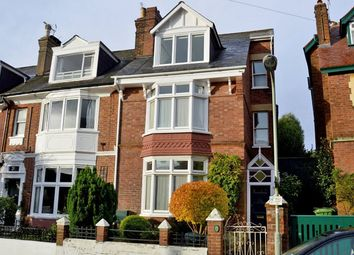 Thumbnail 5 bed semi-detached house for sale in Fairpark Road, St. Leonards, Exeter