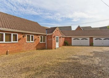 Thumbnail 4 bed semi-detached bungalow for sale in Dove House Row, Norwich Road, Swaffham