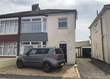 Thumbnail 3 bed semi-detached house to rent in Mill Pond Road, Gosport