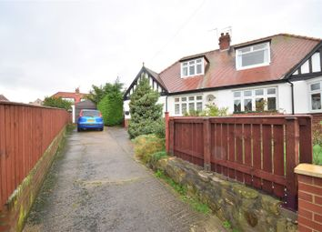 Thumbnail 4 bed semi-detached bungalow for sale in Greenrigg Gardens, Tunstall, Sunderland